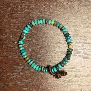 turquoise be bracelet (from Be Hippy)
